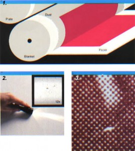 offset printing - Dust