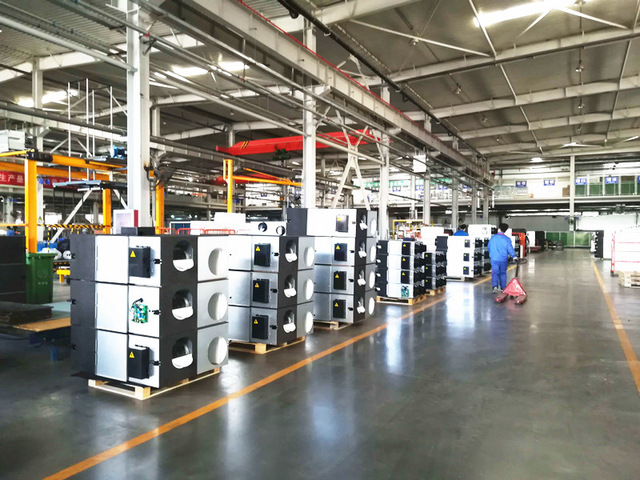 system for heat recovery in one factory
