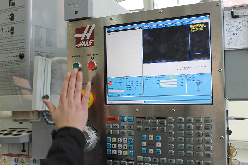 command board on cnc machine