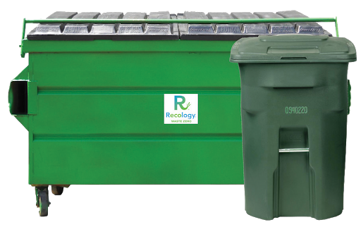 container for waste