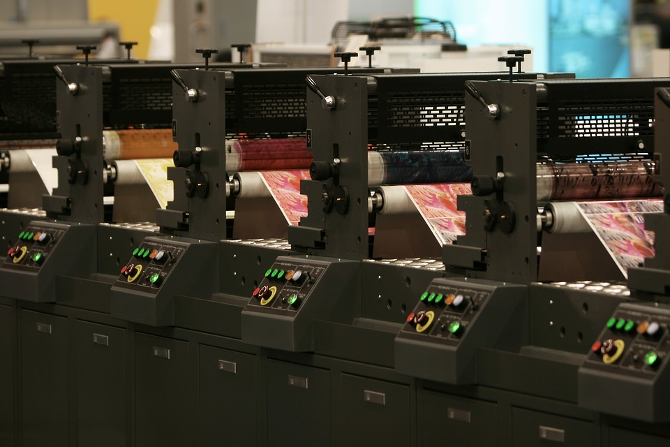 printing machines in everyday use