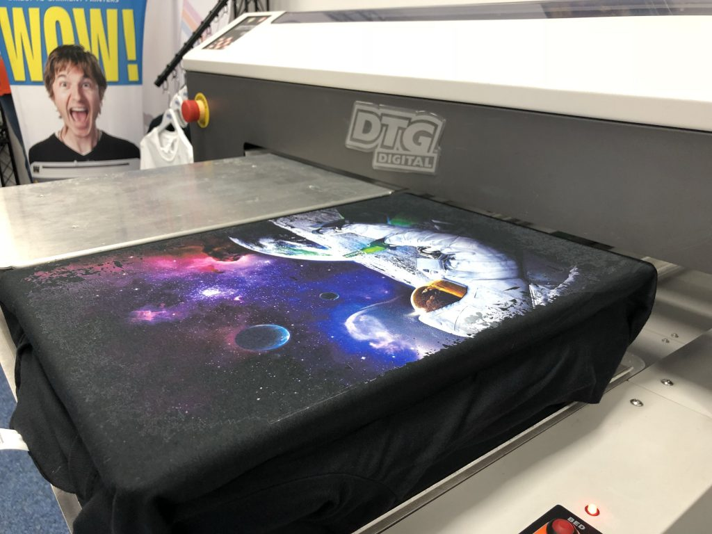 printing with dtg technology