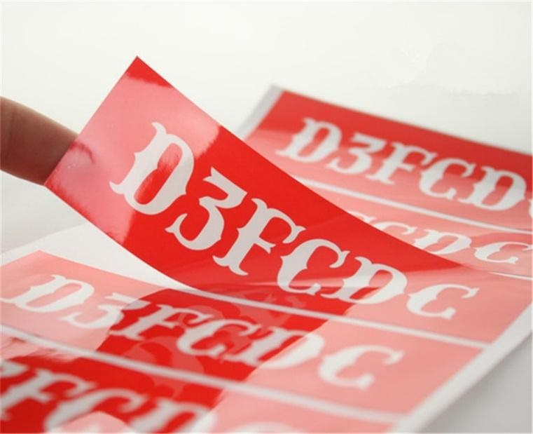 lamination of stickers